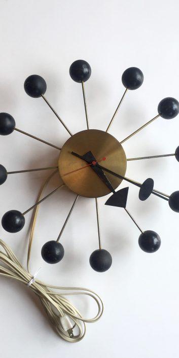 georgenelsonassoclatersballclock#4755brasshermanmiller1950s-1