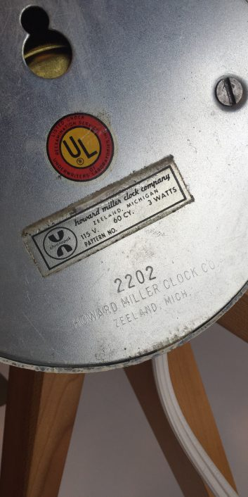 georgenelsonassoclaterssunburstclock#2202birchspikehermanmiller1950s-4