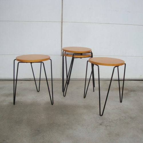 rarestackingstool#75tableflorenceknollassociatesusa1950s-1