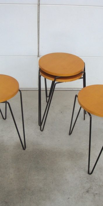 rarestackingstool#75tableflorenceknollassociatesusa1950s-2