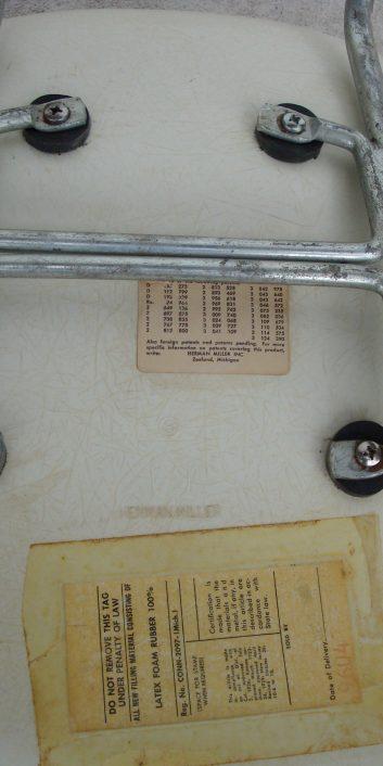 eamesarmchairnaugahydeleatherbeigehbase1hermanmillerusa1950-6