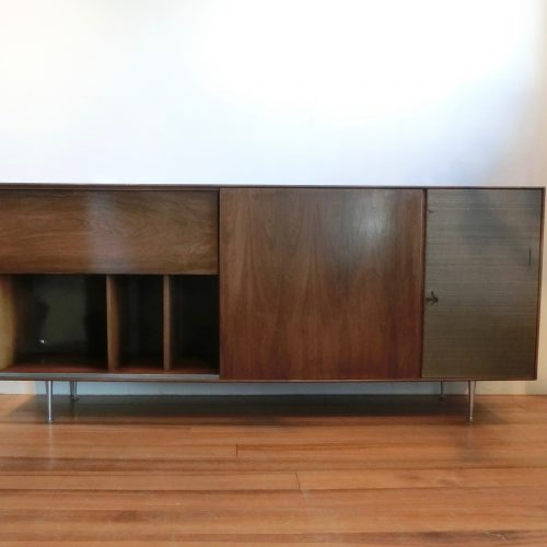 georgenelsonrosewoodcasegroup5518tvrwcredenzathinegecabinethermanmillerusa1950s-1