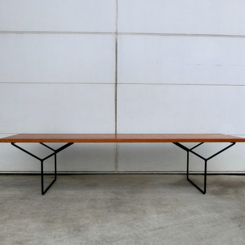 harrybertoiaslatbench66inchknollinternationalusa950s-1