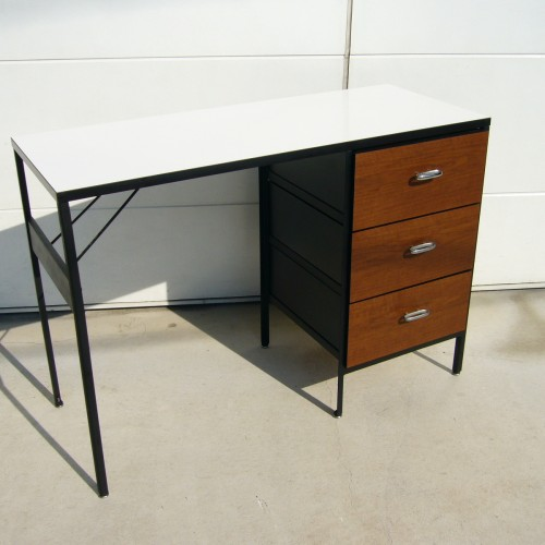 G.Nelson Steel Frame Desk -1